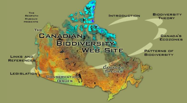 Canadian Biodiversity Website